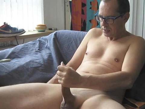 An Electro Stimulation Vid And I Jerk-off Till I discharge My Second Load For This Day ;-)