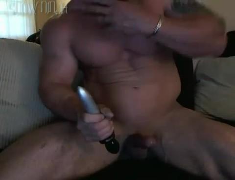 Straight Bodybuilder sex tool & Phone Sex