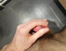 My Edging Session With Lube. Sorry, I Should Have Moaned more :D Please Rate, Comment And Add To Favourites If u Like It ;)