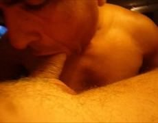 This One Looks Like ADDICTCUM, Doesn't that guy? I Love Bald Ones engulfing On My dick