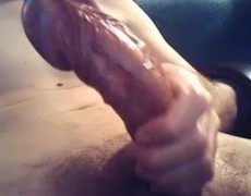 plenty of Pre-sperm And Cumming.
