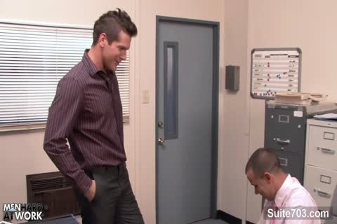 Office gays fucking booties On The Desk