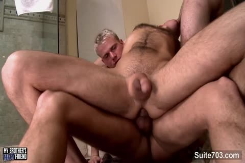 sexy gays acquires Double boned And Cummed