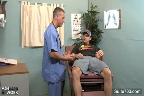gay Patient receives screwed By Doctor In The Office