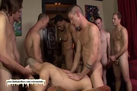 young Bukkake slut gets His ass Filled With chap cock