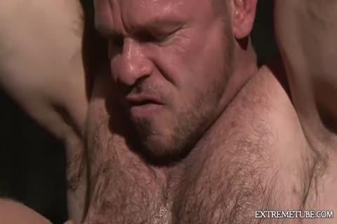raw Muscle - Scene three - Factory video