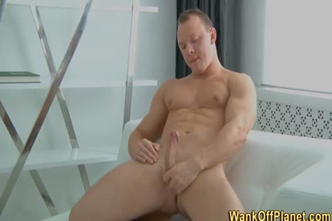 amateur Hunk Rubs rod