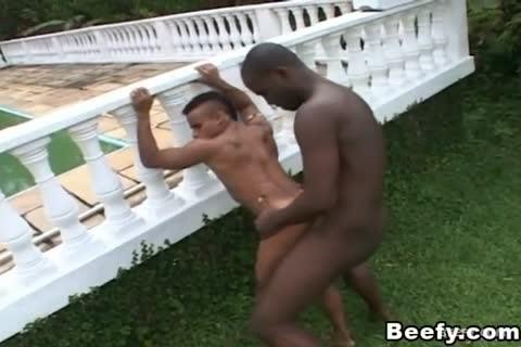 black boyz engulf And bang outside After Work