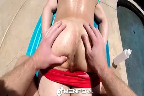 gay man At The Pool Has Some Pov pooper pleasure
