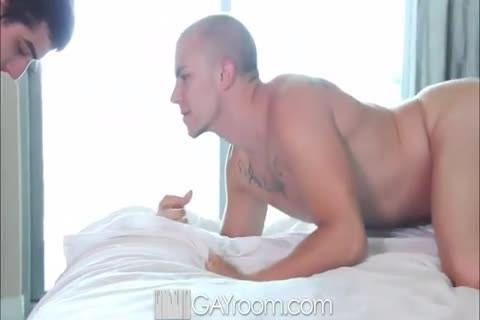 man Licks arsehole And dong