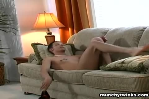 handsome naked chap Is Masterbating His beefy cock