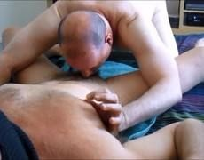 another Rim-and-suck For Returning Daddy  M. Was A gigantic Success Last December.  The lascivious man Loved The oral-stimulation Attention So Much Th
