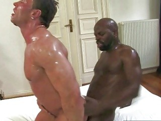BBC Impales White Bodybuilder