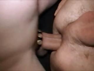 Bull-hung men nailing taut Holes. Part XII