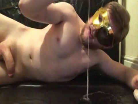 tasty delicious Masked Hunk Solo Shooting massive Load