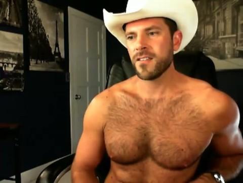Cowboy Cacetudo Esporrando Gostoso