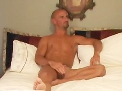 Bald lusty dude Wants his dong pleased