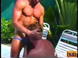 Outdoor penis sucking