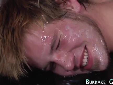 Hunk Face Bukkake Creamed
