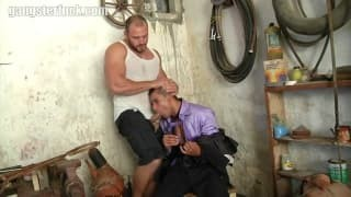 A Rather hardcore moment between Two homosexual men!
