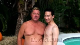A homosexual asian boned By This man