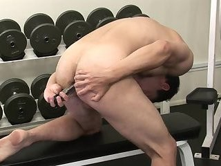 Gavin Tate Toying butthole