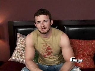 Gage Wilson jerking off