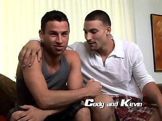 Cody F & Kevin have a enjoyment engulfing