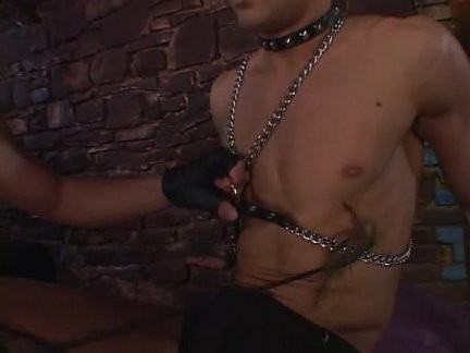 slutty Leather boys Barebacking