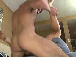 Benjamin & Jeremy doggystyle wazoo pounding