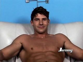 Jeremy Walker Using A dildo