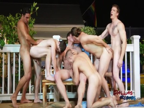 Hungry penis orgy
