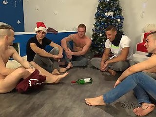 Xmas jerk off Party 2014, Part 1