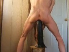 extreme oral-job, anal, and watersports with a monstrous Horse pecker