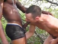 Interracial nakedback big dark weenie