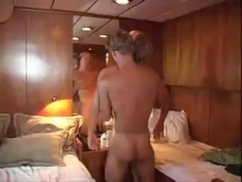 blonde pair Having Sex In The Cabin
