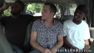 Seth Ryan Is drilled By Two darksome males