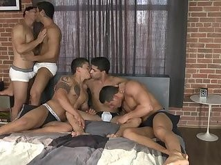 5 guys, 1 bed Part 1