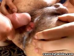 yummy Hunk receives His beautiful butthole bareback fucked
