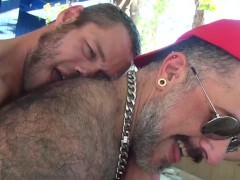 Damon Doggs pound Filled cum Holes - Scene two