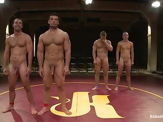 [GVC 118] Muscly males Wrestling In Public