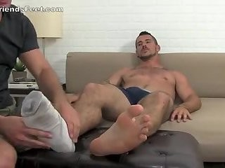 Worship Muscle juicy Feet