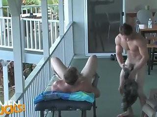 [GVC 156] Muscle men Masturbating