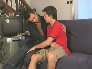 lovely Rehdead Watches Two homo teens Make Love And Helps them Out
