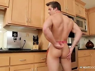 [GVc 329] powerful Hunk Tugging penis Alone