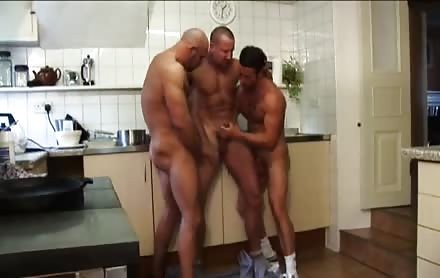 Three Hard Up Cooks Celebrate Then End Of Their Shift