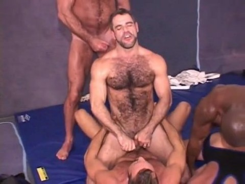 Daddy's BB bunch orgy