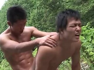 horny oriental boys sucking & banging