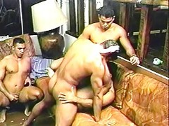 homosexual Brazillian Nut lickers In action here Giving oral-jobs