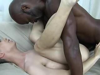 oriental guy Takes A huge dark cock
